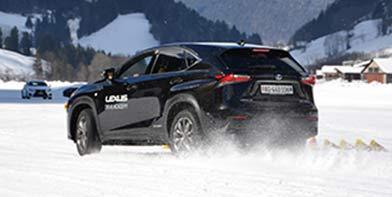 Lexus Winterfahrtraining 392x197px