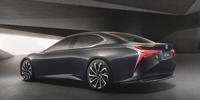LF-FC Concept Car als Vorbote_