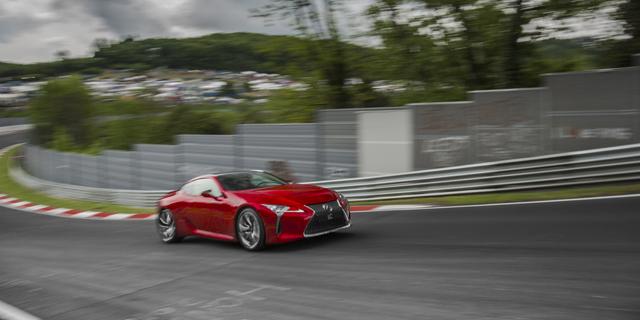 Luxus Coupe auf Deutschlandtour