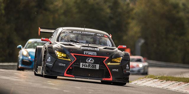 Lauf neun Historischer VLN Sieg f r Lexus