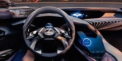 Lexus UX Konzept Fahrzeug