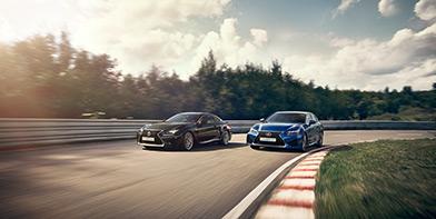Neues adaptiv variables Fahrwerk für Lexus F Modelle