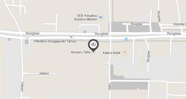 Tartu mobile map image
