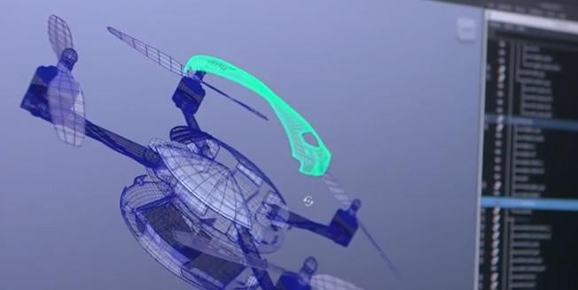 El diseño del Quadrotor ha sido posible gracias a la última tecnología y a los principios de Lexus