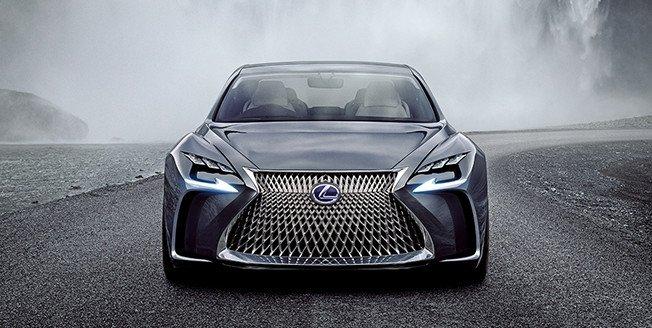 El LF NX es el último prototipo SUV creado por Lexus