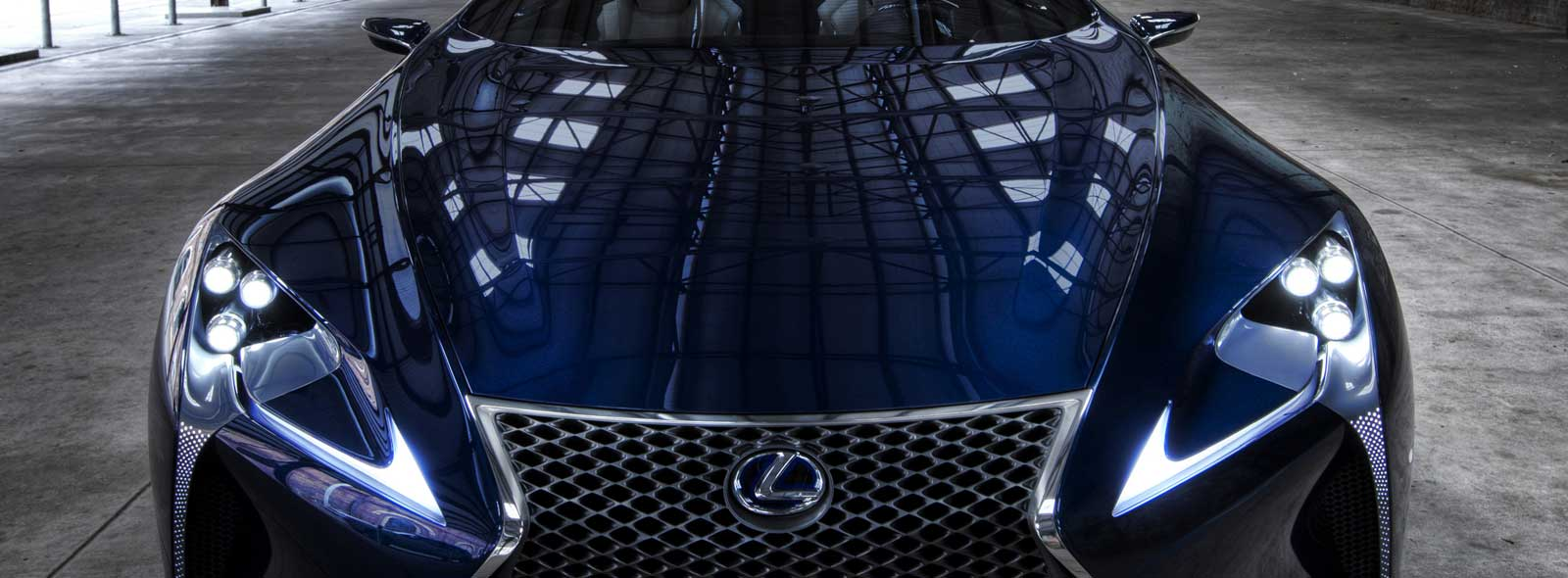 Lexus LF-LC Concept Sports Car Front
