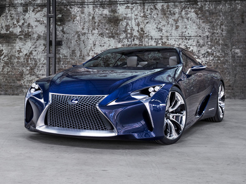 LF LC Concept Sports Car Front