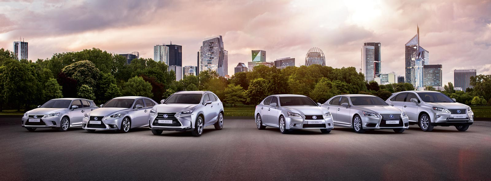 Lexus Hybrid Drive All Models