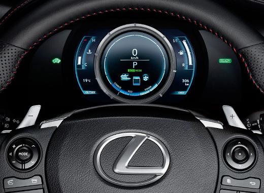 Lexus Hybrid Drive Steering Wheel