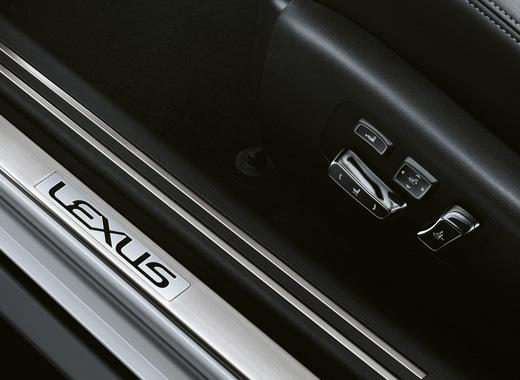 Lexus LS 460 Electric Seat Adjustment