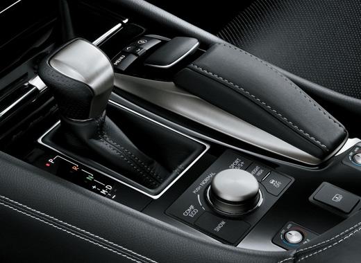 Lexus LS 460 Center Console
