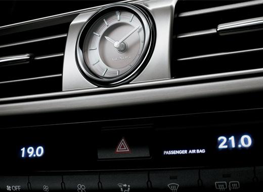 Lexus Dashboard Analogue Clock