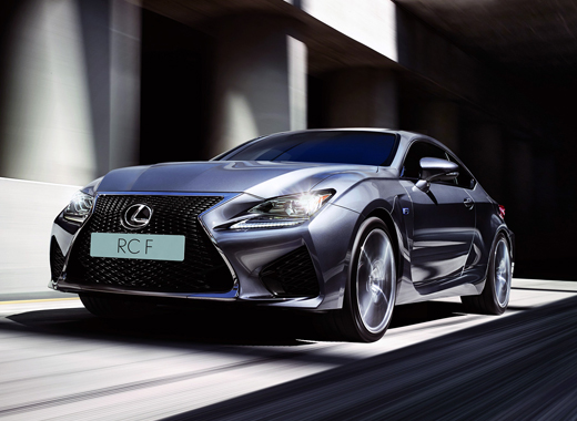Lexus RC F Sports Car