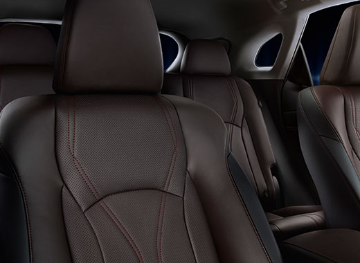 New RX 200t Black Leather Seats