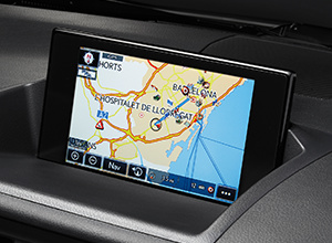 CT200h BusinessEdition Features Navigation