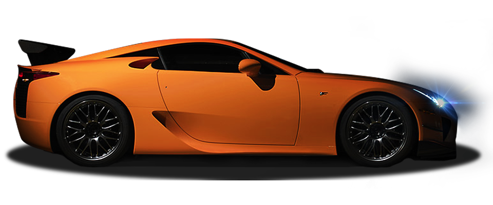 lfa clip masterpiece orange