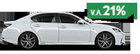 De Lexus GS met v a 21 bijtellingspijl
