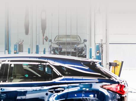 Een kalender voor het maken van een Lexus werkplaatsafspraak