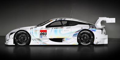 Lexus представил эффектный гоночный автомобиль