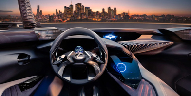 Концепт кар Lexus UX
