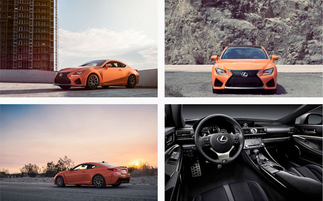 sport coupe rc f text