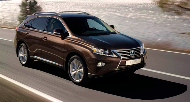 lexus new es rx text