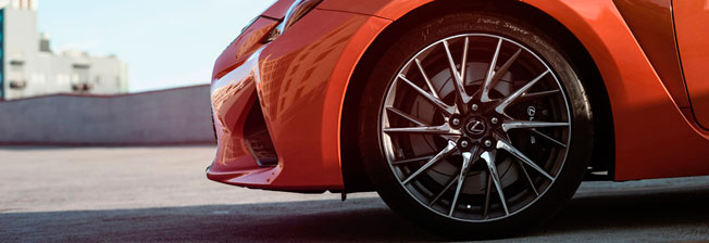 sport coupe rc f top