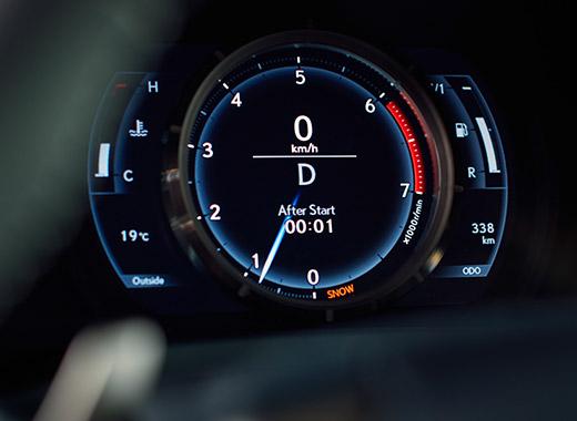 Hastighetsmätare Lexus IS 300h 2017
