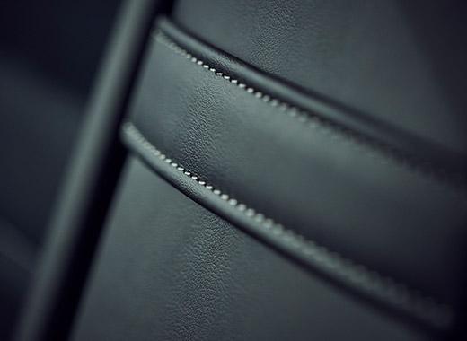 Detaljbild läderklädsel Lexus IS 300h 2017
