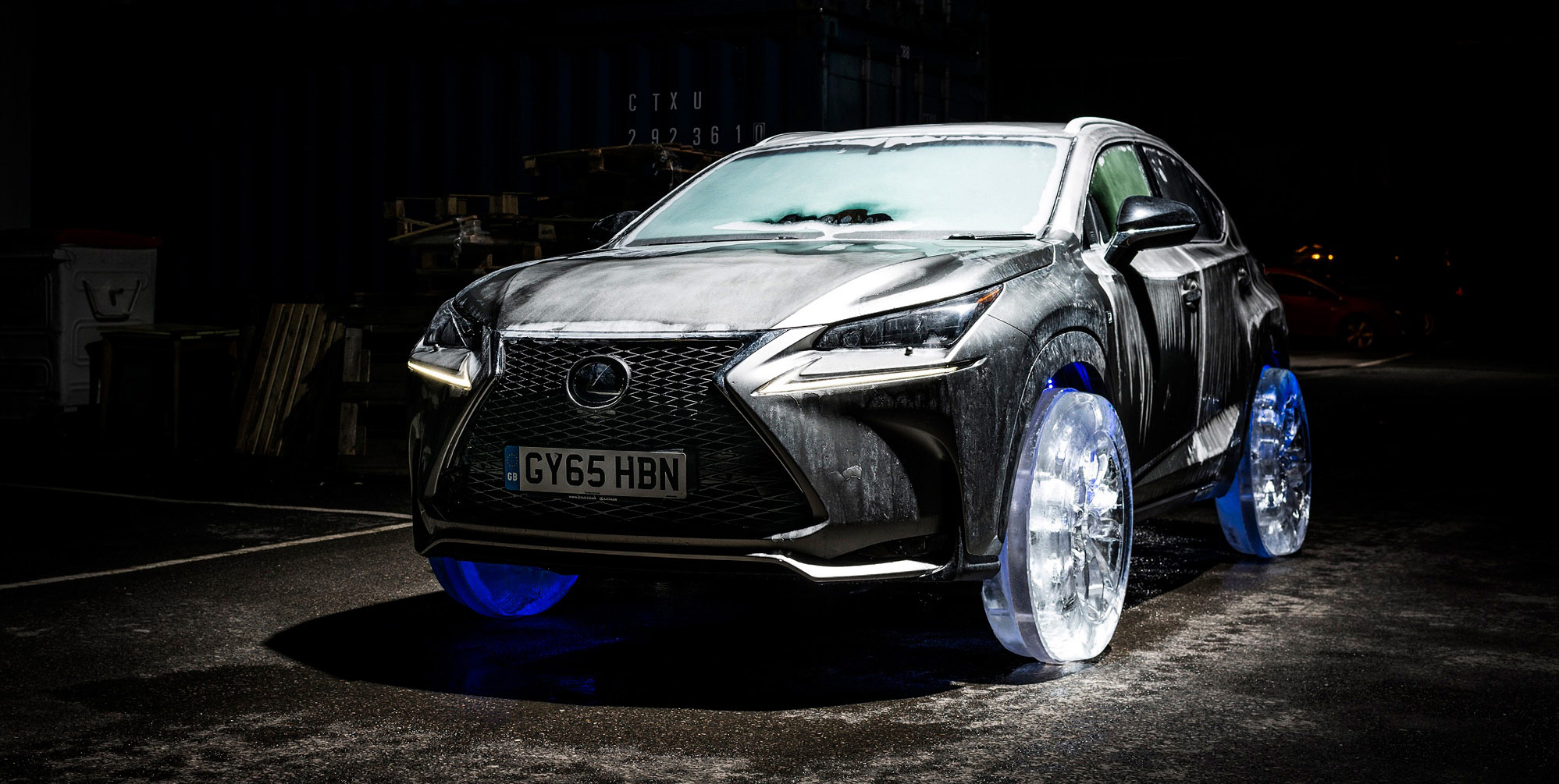 Lexus NX buzdan lastik