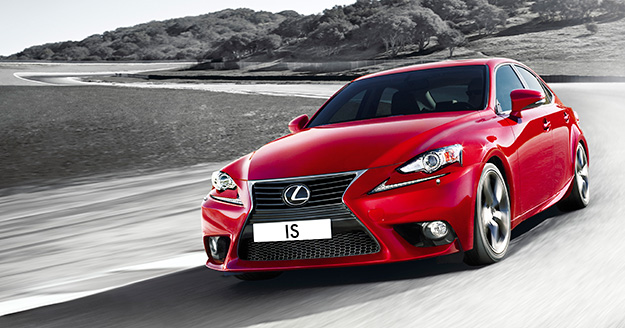 Новий Lexus IS вже в Україні