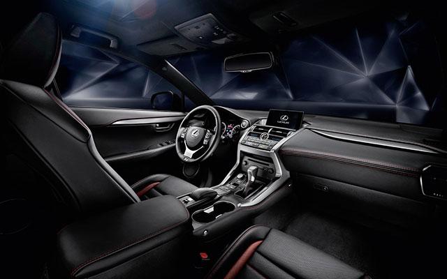 low qual interior LEXUS NX