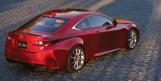 Բացահայտում՝ Lexus RC 350
