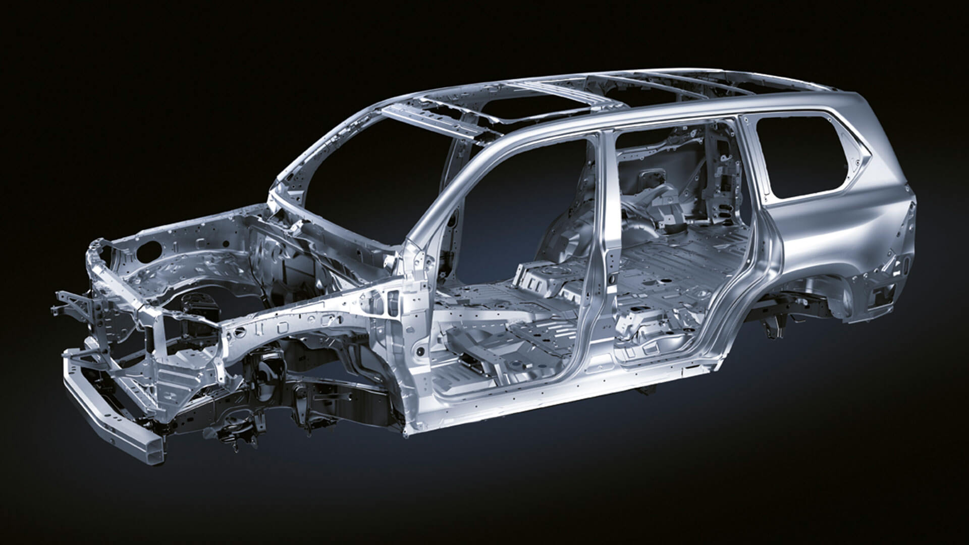 2017 lexus lx features chassis