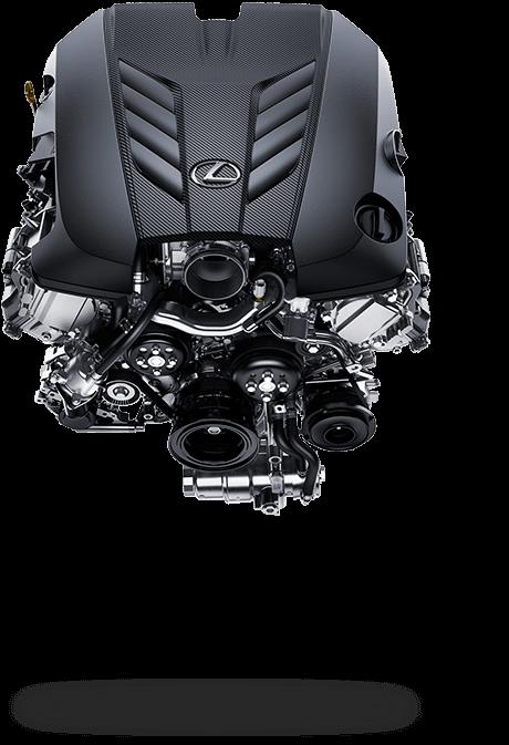 2017 Lexus LC 500 Driving Dynamics Engine