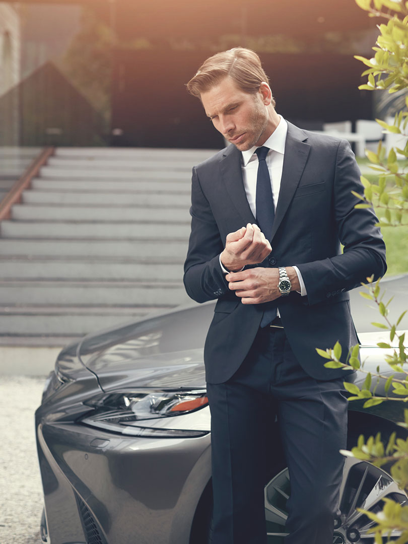 2017 lexus hybrid for business portrait refined luxury