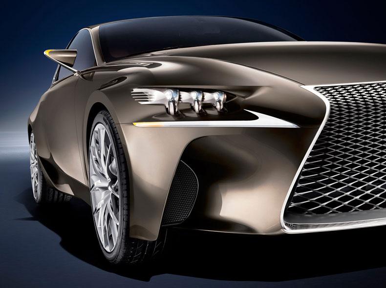 Dəbdəbəli Lexus LF CC Concept avtomobilinin