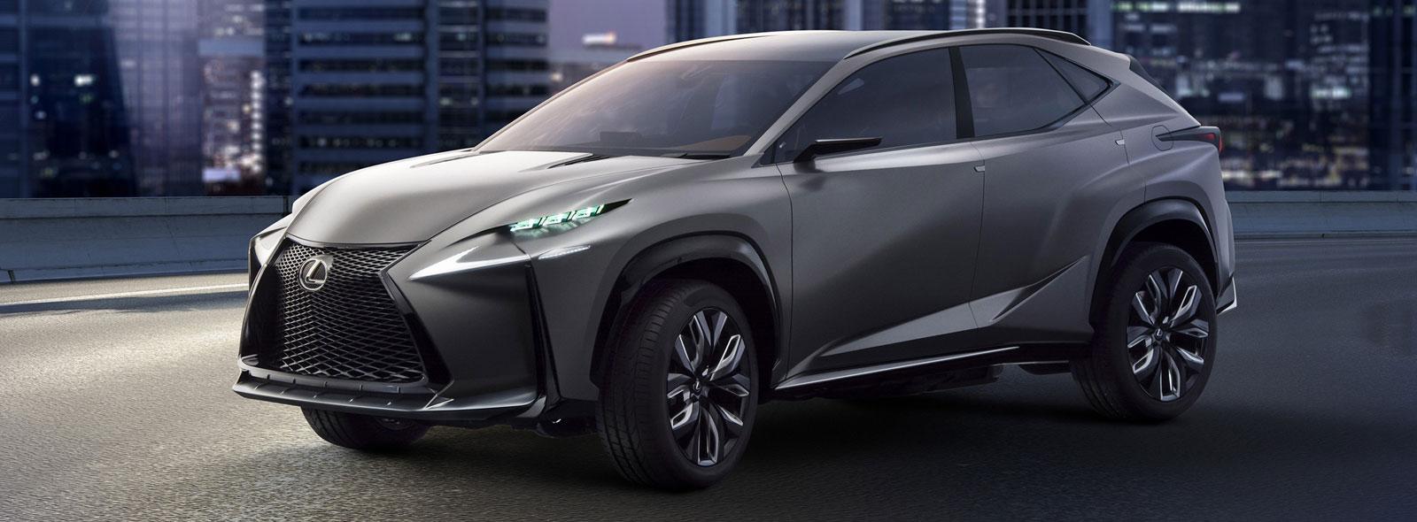 Lexus LF NX Concept avtomobili