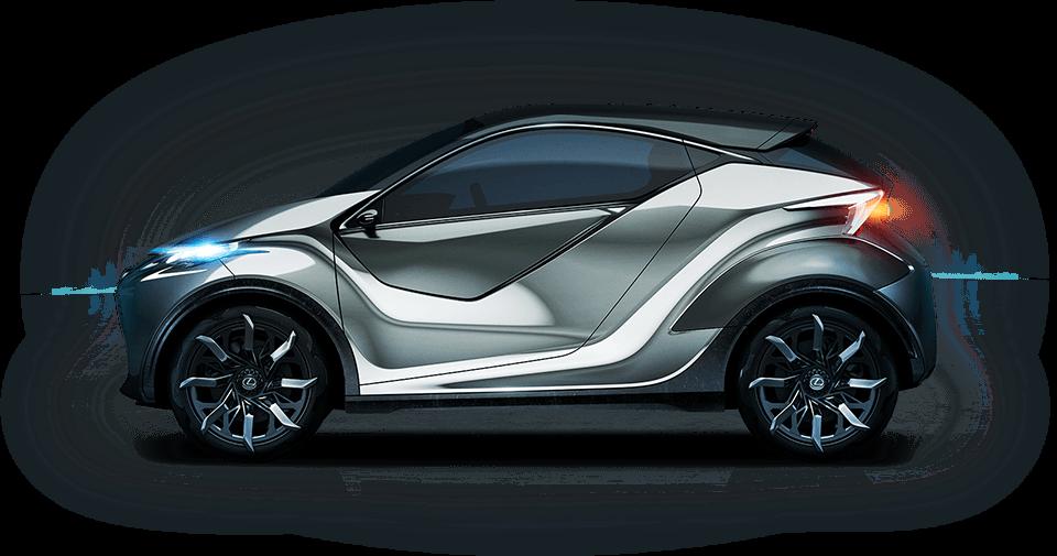 Lexus LF SA Concept yan görüntüsü