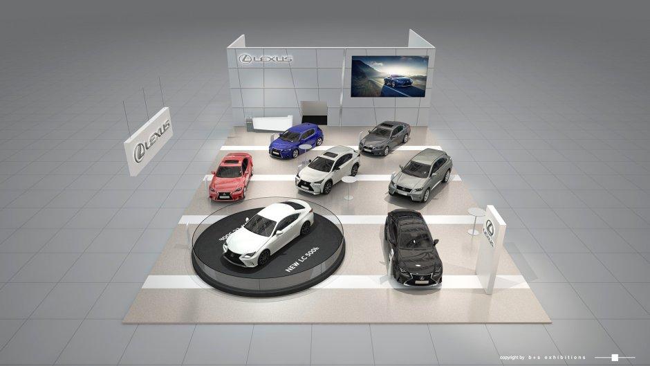 Lexus Stand Image BEFR