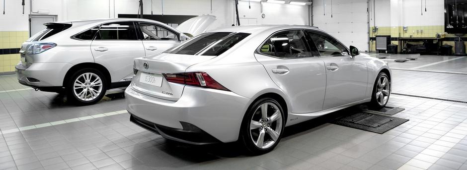 Lexus Services Servicing Your Lexus 490x343px