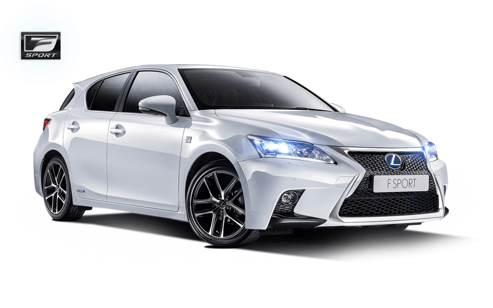 Une Lexus CT 200h vérsion sport