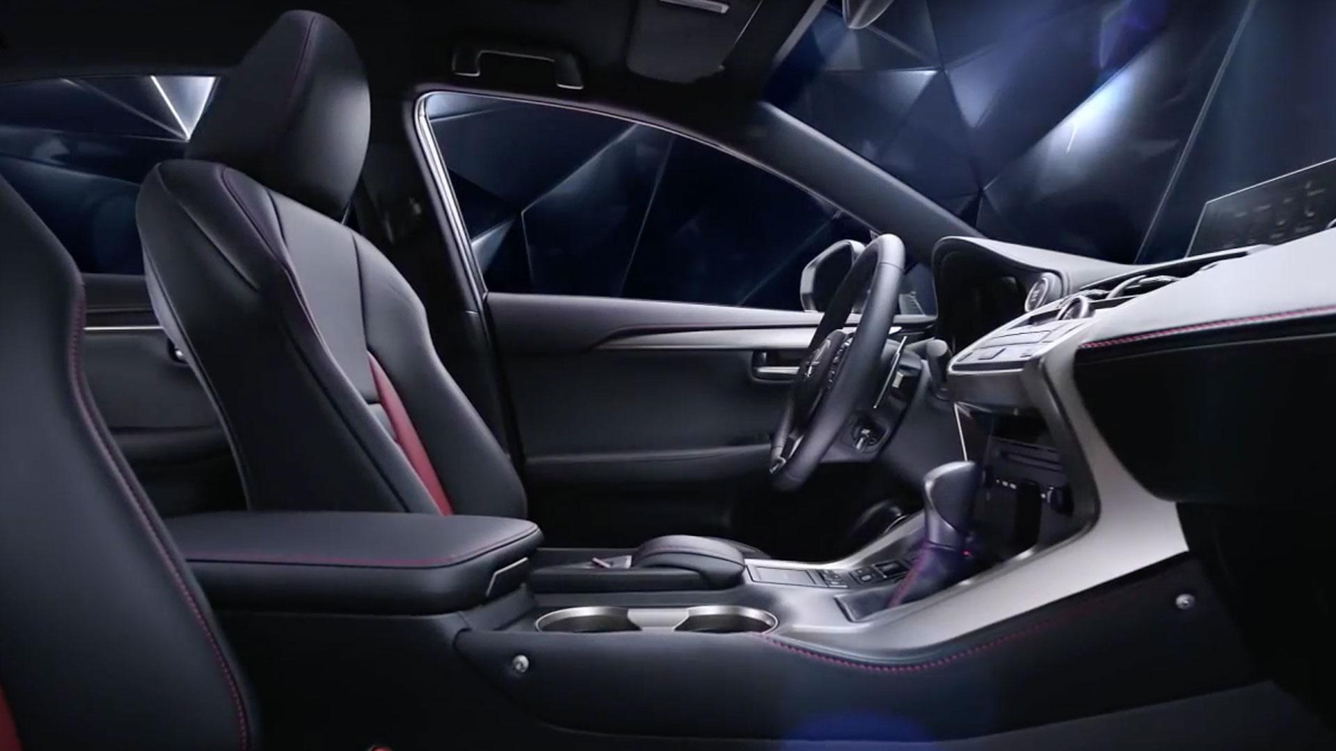 2017 lexus nx 200t inside highlights
