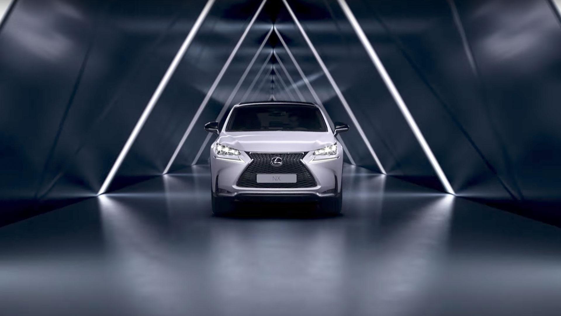 2017 lexus nx 300h driving highlights