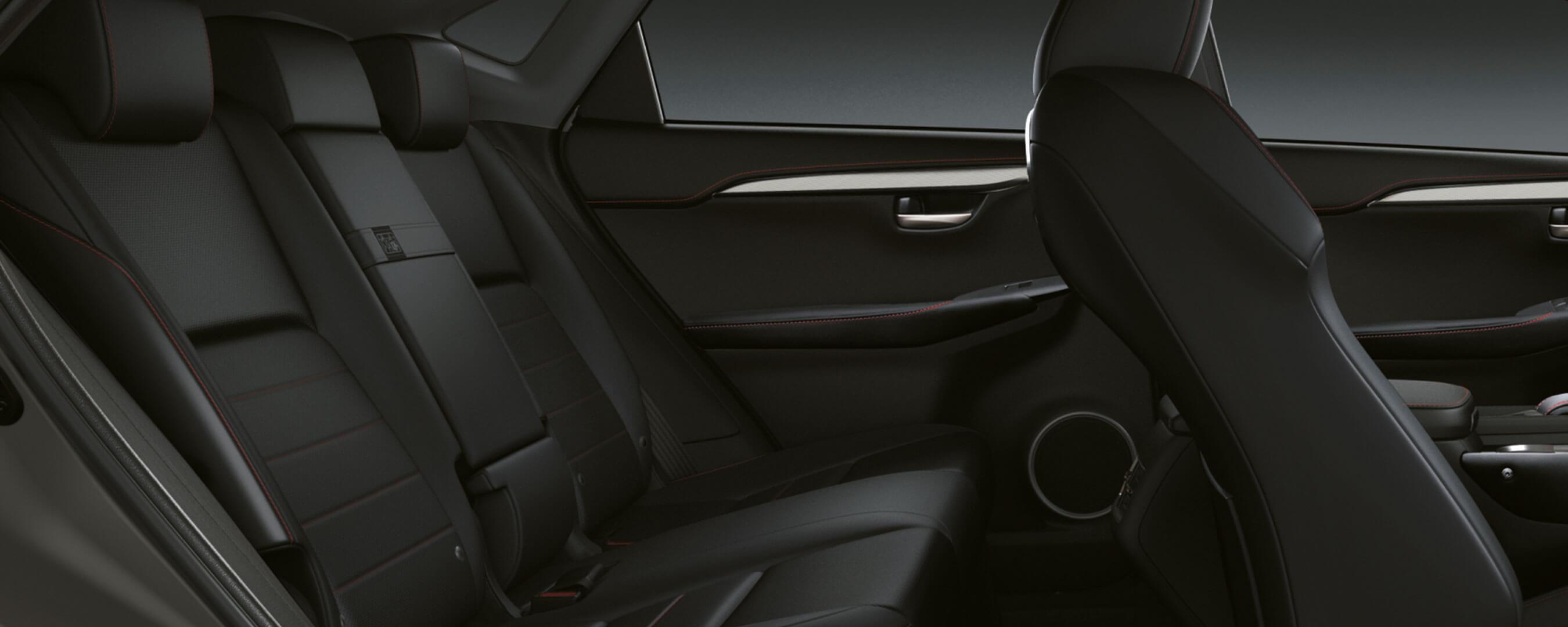 2017 lexus nx 300h experience hero interior back