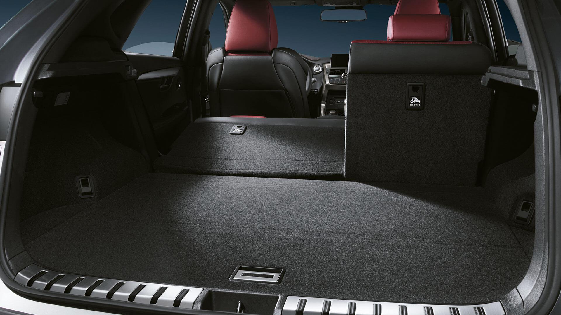 2017 lexus nx 300h features flexible luggage