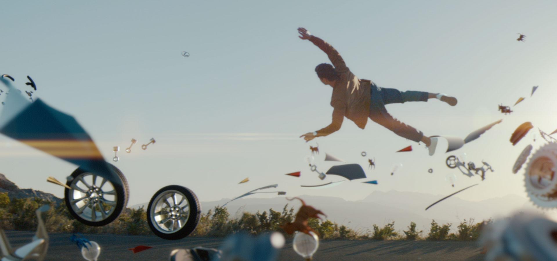 Lexus Brand video banner BG Video