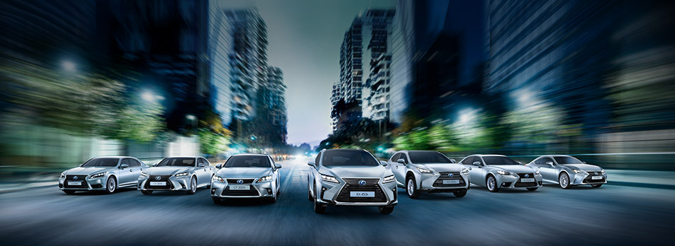 De premium hybride van Lexus