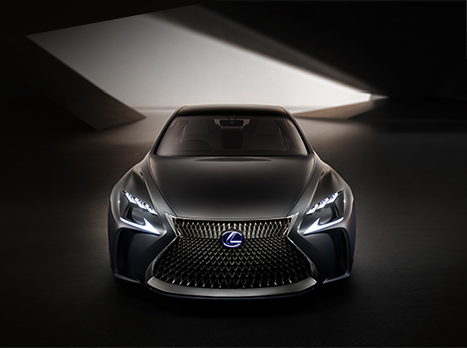 Een concept car van Lexus de LF FC