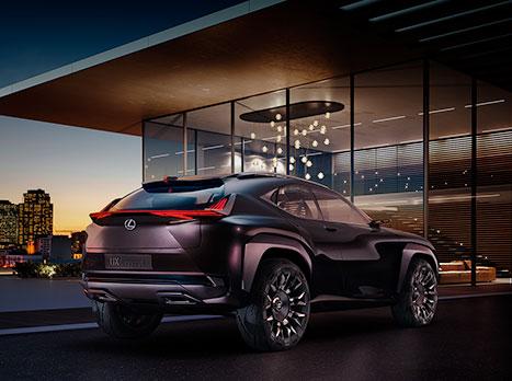 De nieuwe Lexus UX concept car